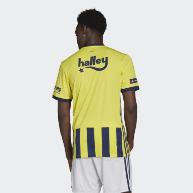 Men Football Yellow Fenerbahçe SK 20/21 Home Jersey