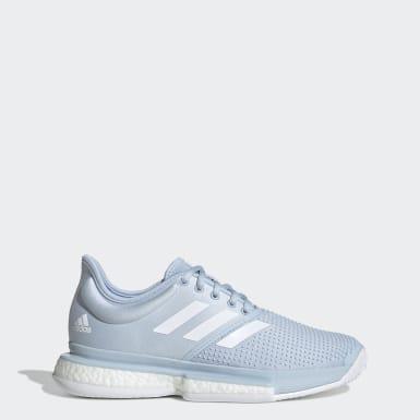 Kvinder Tennis Blå SoleCourt Boost x Parley sko