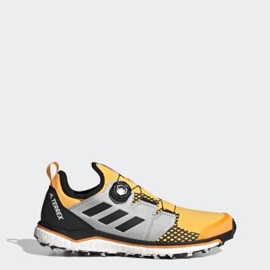 Sapatos de Trail Running Boa TERREX Agravic Dourado Homem TERREX