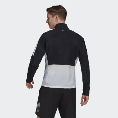 Men Running Black Track Jacket