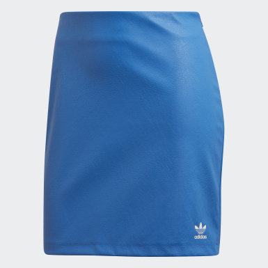Women Originals Blue Skirt