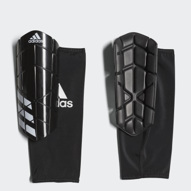 Soccer Black Ever Pro Shin Guards