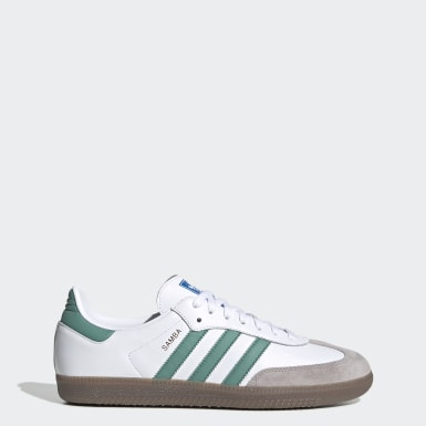 Samba OG Shoes Bialy