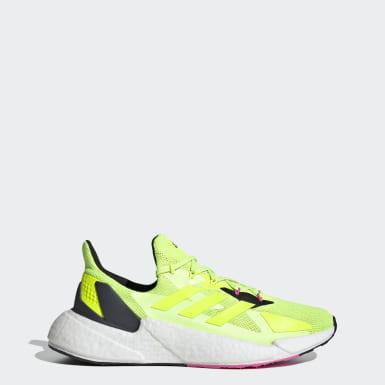 Tenis X9000L4 Amarillo Hombre Running