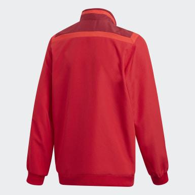 красный Парадная куртка Tiro 19