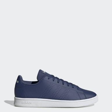 Erkek Sport Inspired Mavi Advantage Base Ayakkabı