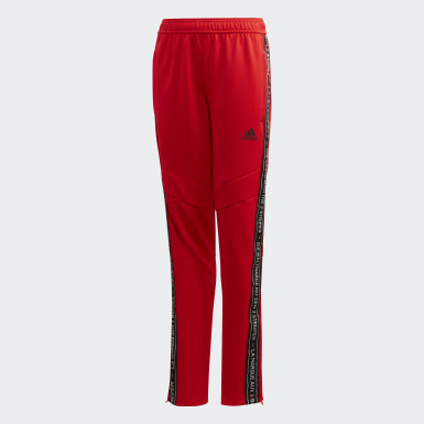 Children Soccer Red Tiro 19 Training Pants