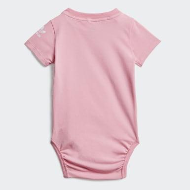 Meisjes Originals Roze Adicolor Romper