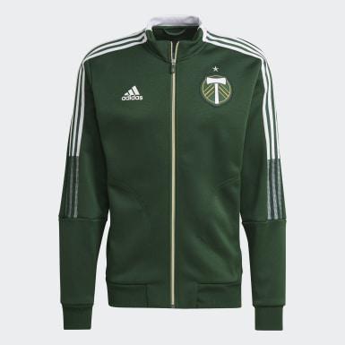Men's Soccer Green Portland Timbers Anthem Jacket