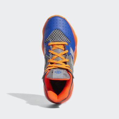 Genç Basketbol Grey Harden Stepback Ayakkabı