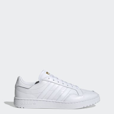 Men's Originals White Team Court Shoes