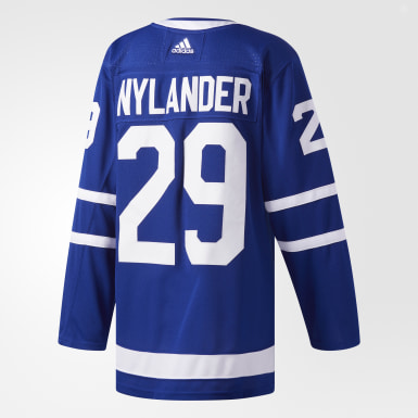 Men Hockey Blue Maple Leafs Nylander Home Authentic Pro Jersey