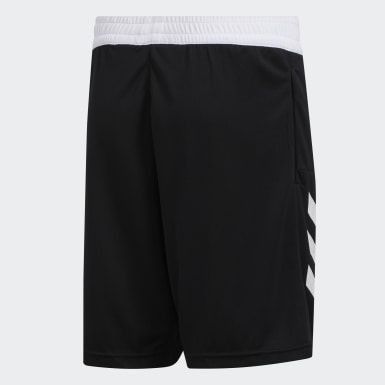 Kids Basketball Black Sport 3-Stripes Shorts