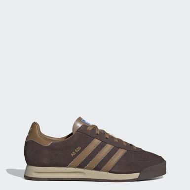 Sapatos AS 520 Castanho Homem Originals