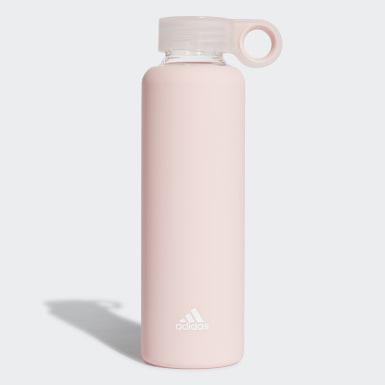 Botella de agua de vidrio