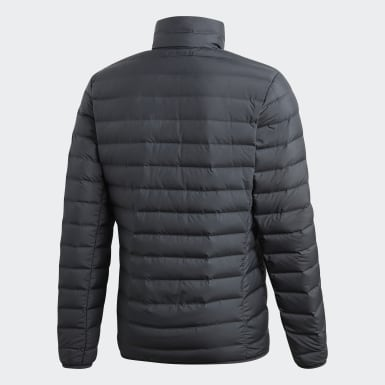 Men City Outdoor Grey Varilite Soft Down Jacket