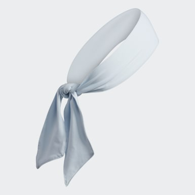 Hiking Blue Alphaskin Tie Headband
