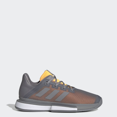 Men's Tennis Grey SoleMatch Bounce Shoes