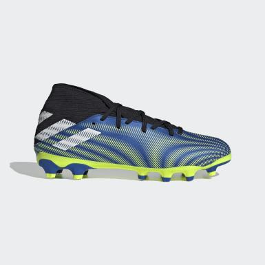 Chaussure Nemeziz.3 Multi-surfaces Bleu Football