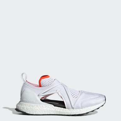 Women's adidas by Stella McCartney White Ultraboost T Shoes