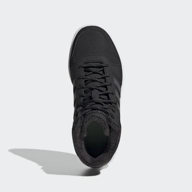Kinderen Basketbal zwart Hoops 2.0 Mid Schoenen