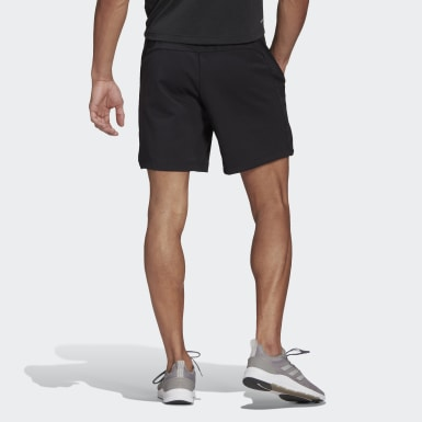 Men Training Black adidas Designed To Move Motion AEROREADY Shorts
