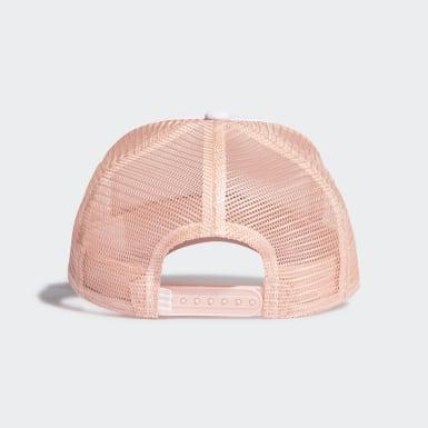 Originals Pink Adicolor Curved Trucker Cap