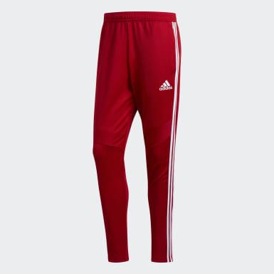 Pantalon d'entraînement Tiro 19 rouge Hommes Soccer