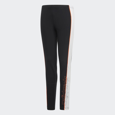 Girls Originals Black Leggings