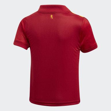 Minikit Principal de Espanha Vermelho Criança Futebol