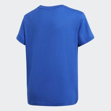 Polo Estampado Azul Niño Originals