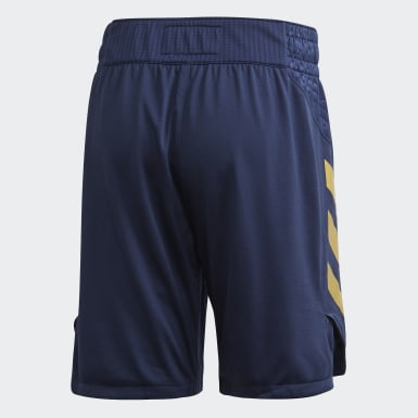 Heren Basketbal Blauw RM Game Short
