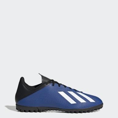 Heren Voetbal Blauw X 19.4 Turf Voetbalschoenen
