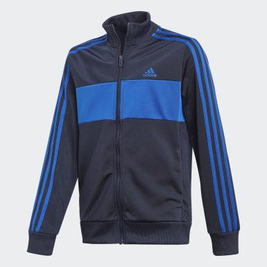 Jungen Training Tiberio Trainingsanzug Blau