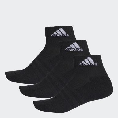 Training Siyah 3-Stripes Performance Bilek Boy 3 Çift Çorap