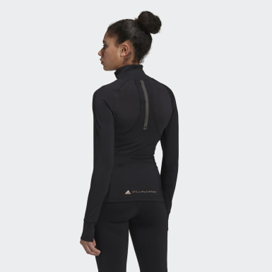 Women adidas by Stella McCartney Black TruePurpose Midlayer Jacket