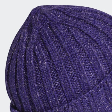 Women adidas by Stella McCartney Purple adidas by Stella McCartney Beanie