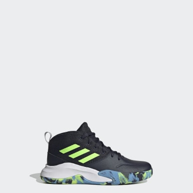 Children Basketball Blue OwnTheGame Wide Shoes