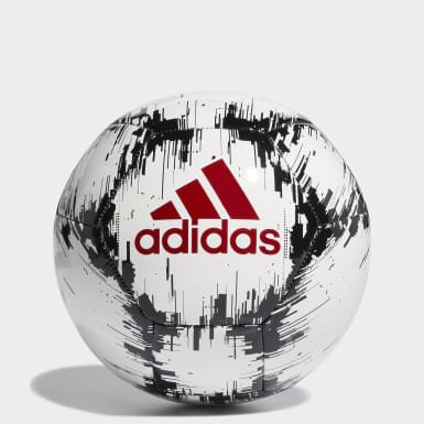 белый Футбольный мяч ADIDAS GLIDER 2