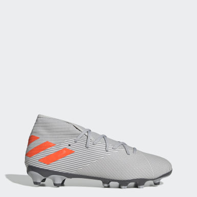 Football Grey Nemeziz 19.3 Multi-Ground Boots