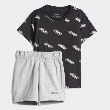 Bebek Sport Inspired Siyah Favorites Eşofman Takımı