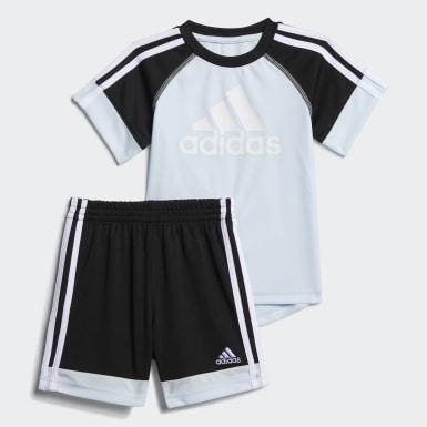 Infant & Toddler Training Blue Urban Sport Shorts Set