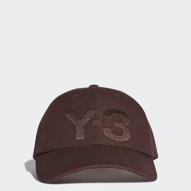 Y-3 Burgundy Y-3 Classic Logo Cap