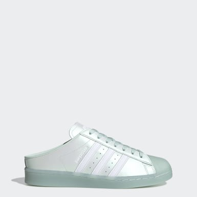 Originals Green Superstar Mule Shoes