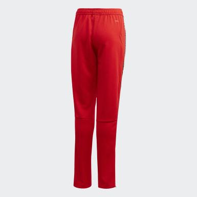 Pantaloni da allenamento Tiro 19 Rosso Bambini Calcio