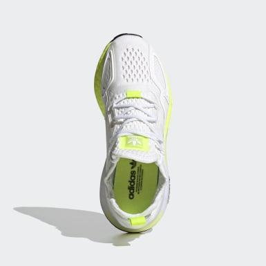 Sapatos ZX 2K Boost Branco Criança Originals