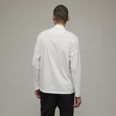 Mænd Y-3 Hvid Y-3 Classic Mock Neck trøje