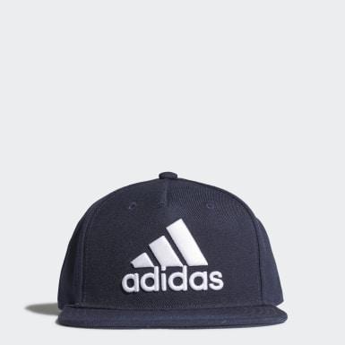 เทรนนิง สีน้ำเงิน หมวกแก๊ป Snapback Logo