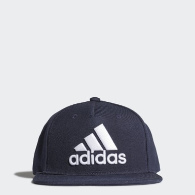 Training Blue Snapback Logo Cap