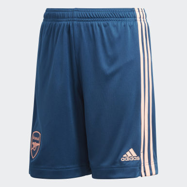 Short Third Arsenal 20/21 Bleu Enfants Football